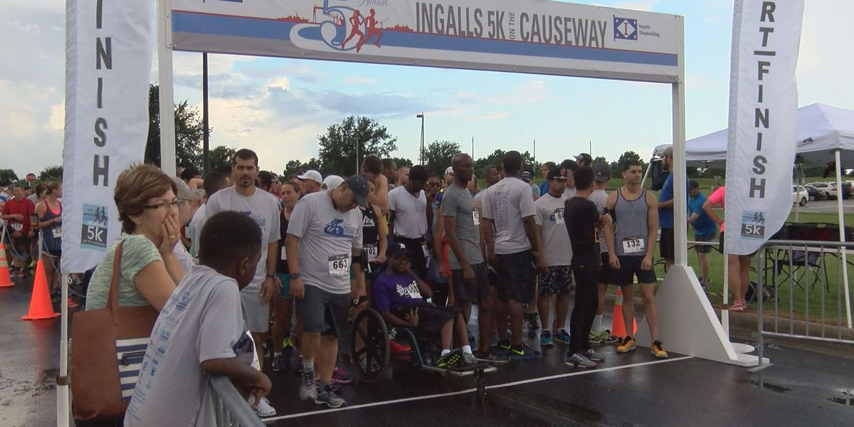 Hundreds run in 5th annual 5k on the Causeway
