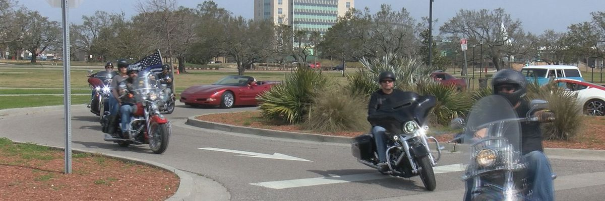 Gulfport car group holds Highway 90 cruise for fallen deputy