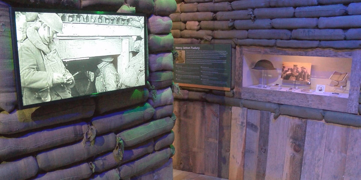 WWI exhibit at Armed Forces Museum gets makeover
