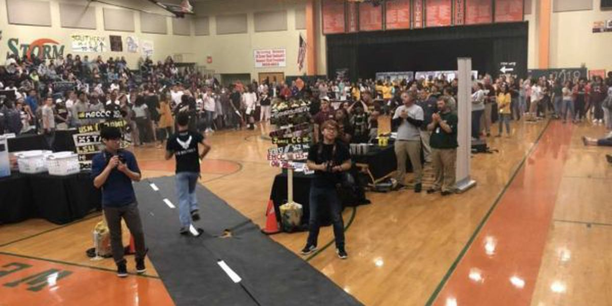 West Harrison HS celebrates college and military bound students