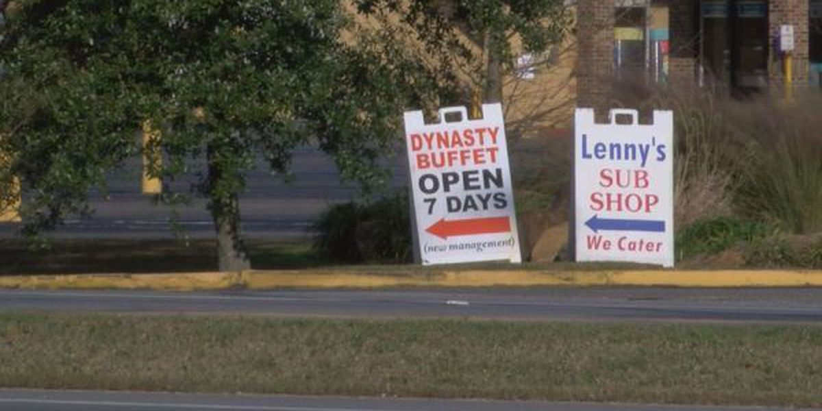 Ocean Springs reminding businesses about sign ordinance