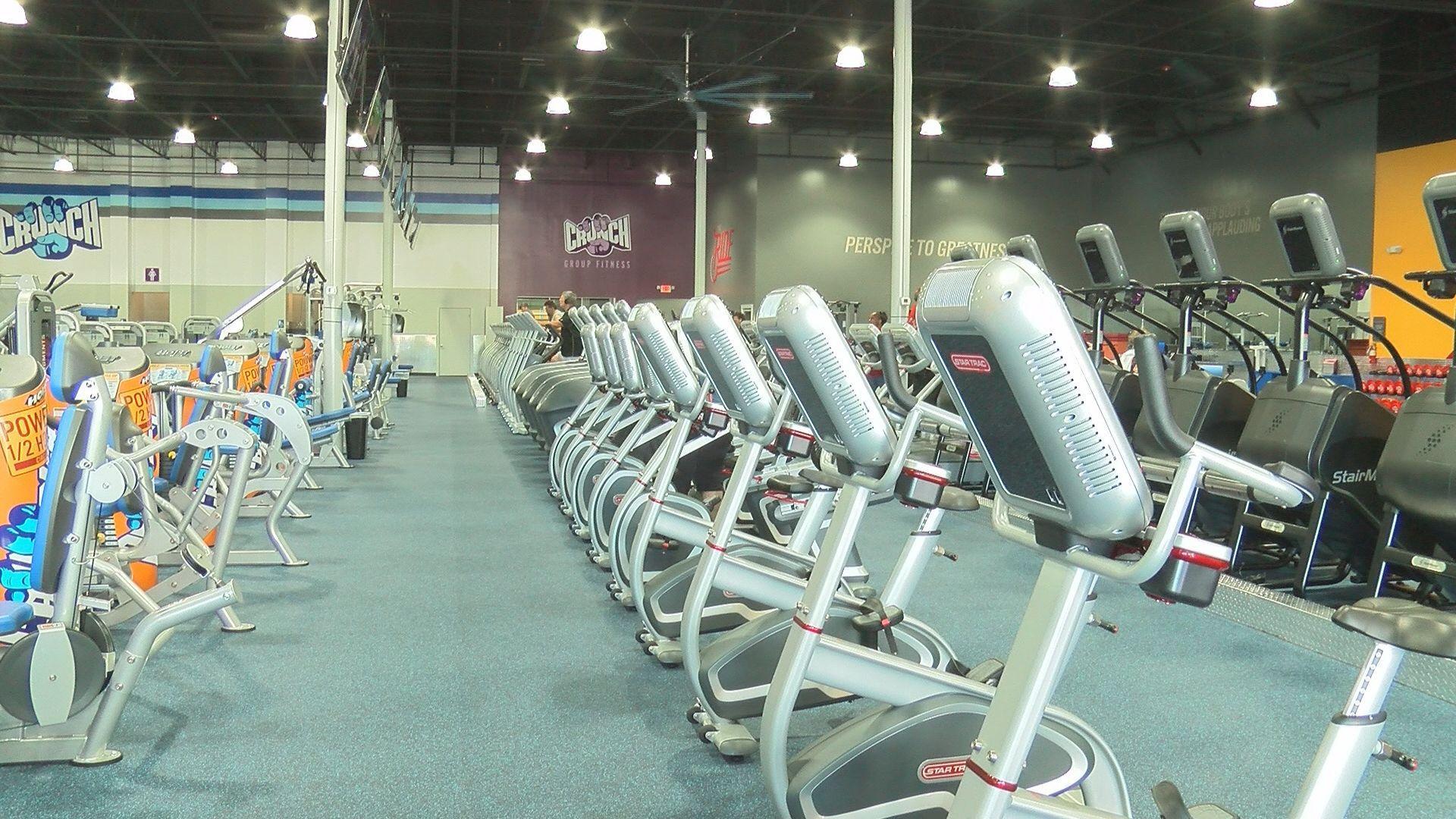 Crunch Fitness Gym Open New Long Beach Location