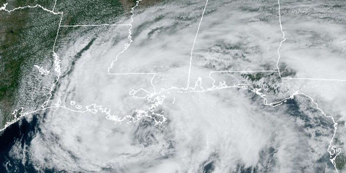 Cristobal's heaviest rainfall confirmed in Mississippi, report says