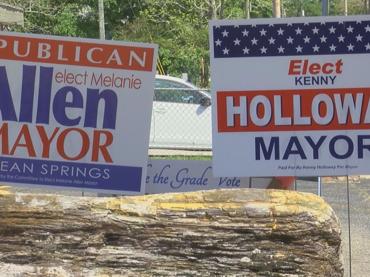 Ocean Springs' mayoral candidates make final push ahead of Tuesday runoff