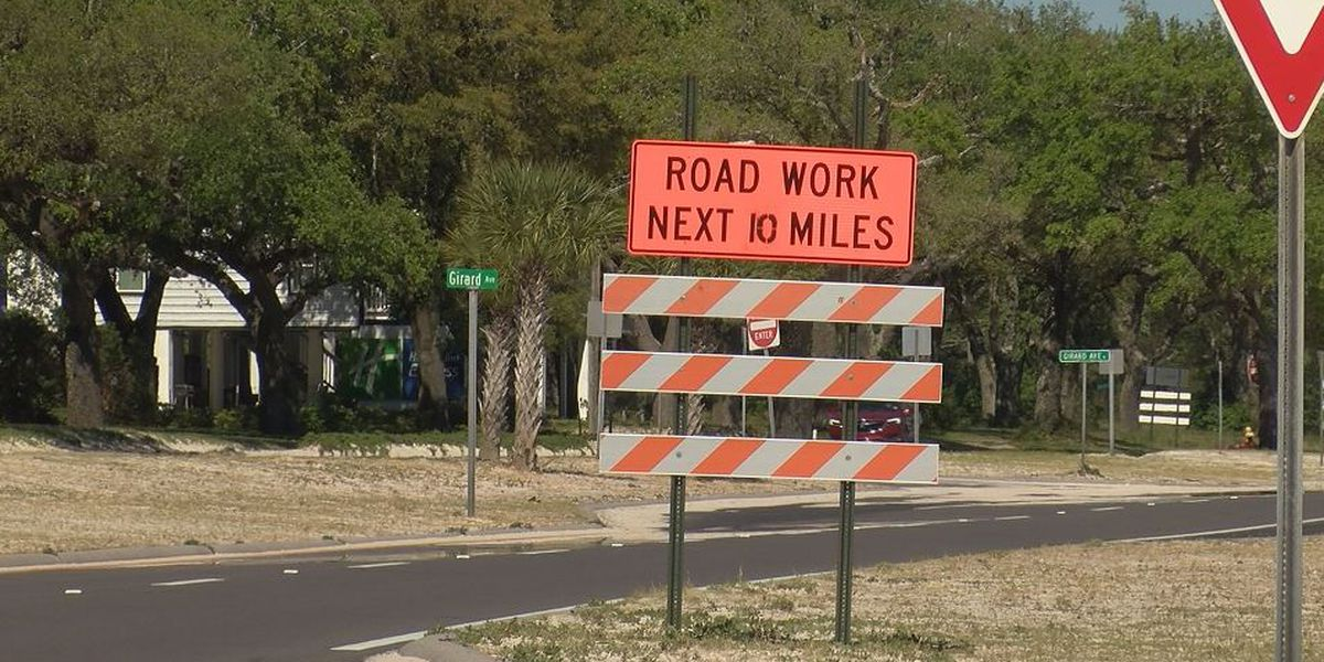 Warmer days should get Highway 90 repaving project back on track