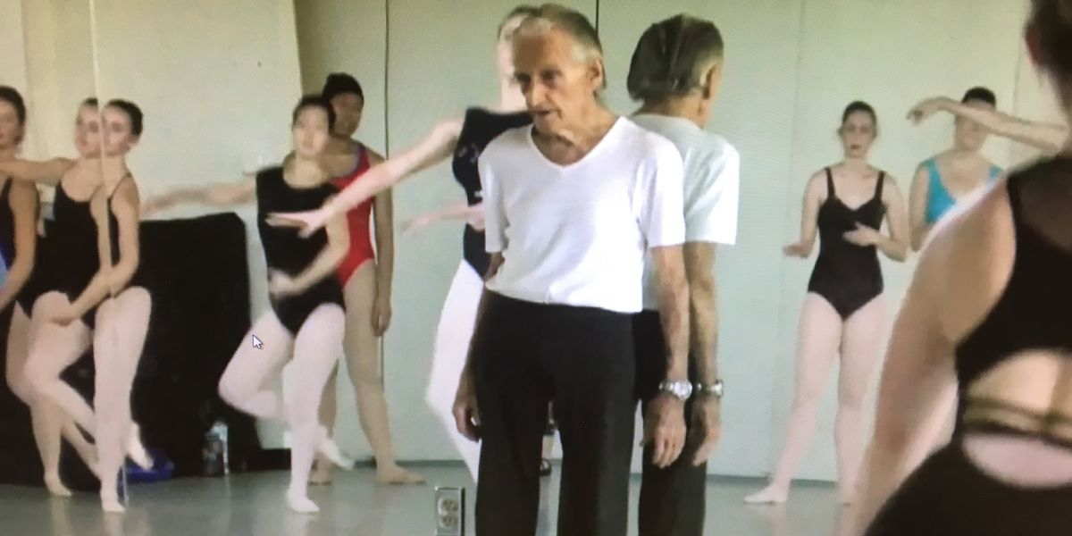 'Have a passion for it': 100-year-old ballet master still teaching classes