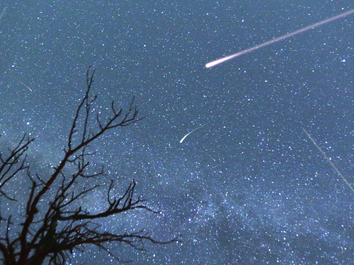 Meteor shower ruined by rain showers?