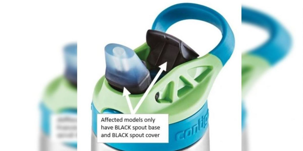Contigo recalls 5.7 million kids water bottles for second time over choking hazard