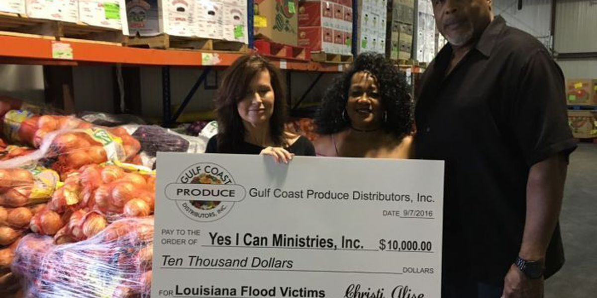 Gulf Coast Produce organizes Louisiana flood help