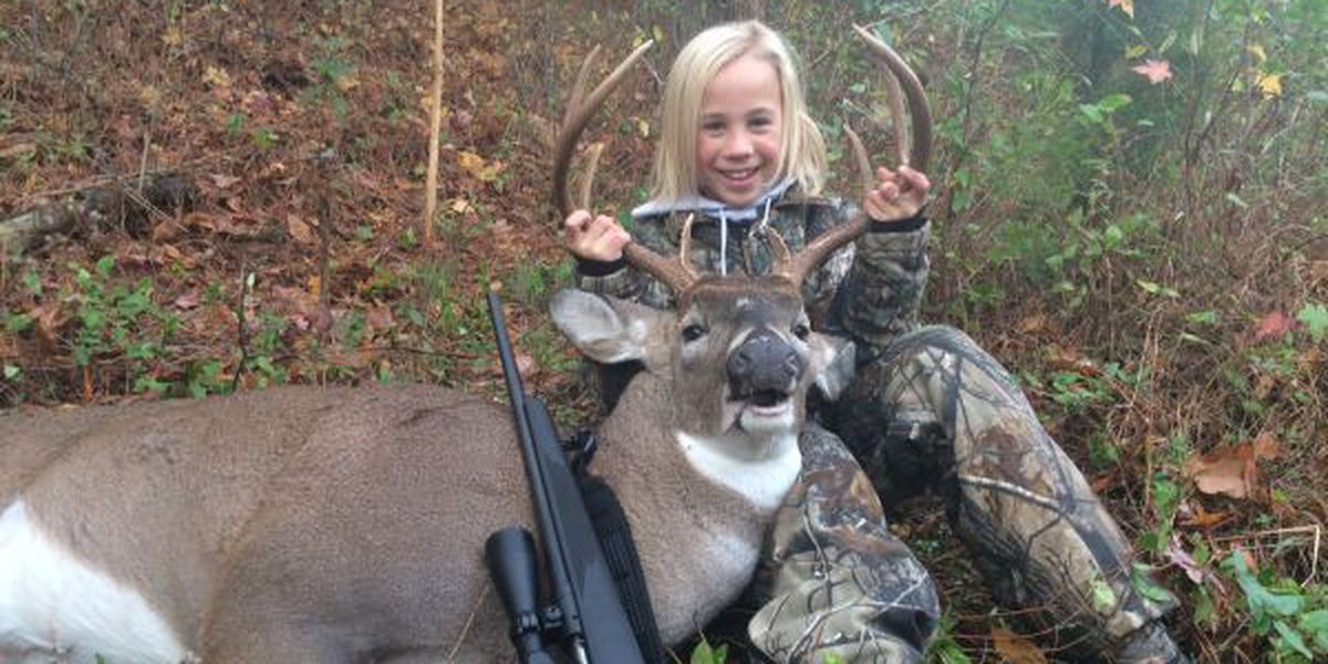 Ocean Springs youngster takes first deer with her father by her side