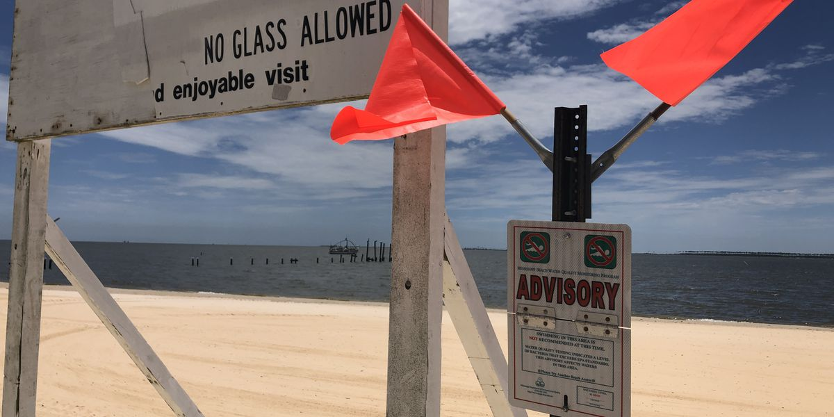 Four new water advisories in place for Coast beaches