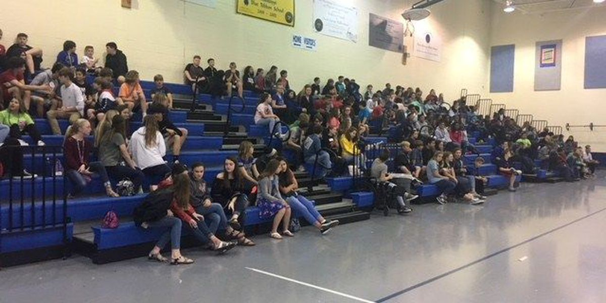 Mrs. Ocean Springs 2018 gives middle schoolers a lesson on bullying