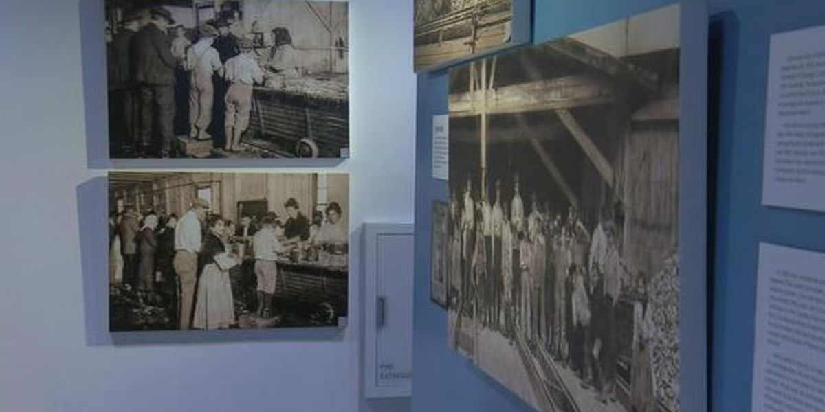 Page 13: Exhibit documents child labor law violations in Biloxi