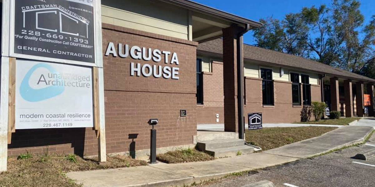 Renovations almost complete at the Augusta House in Biloxi
