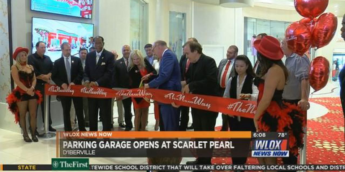 Scarlet Pearl Casino opens new parking garage