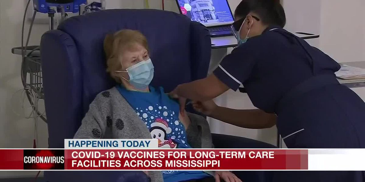 Vaccines roll out at Miss. long-term care facilities