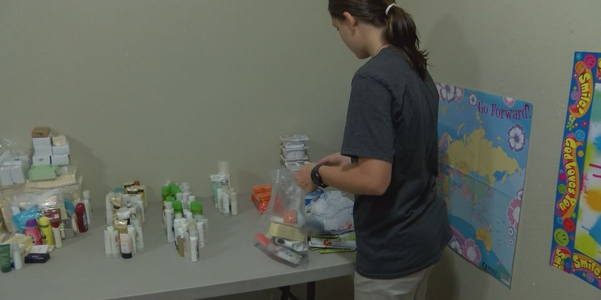 13-year-old aims to change world with Blessing Bags