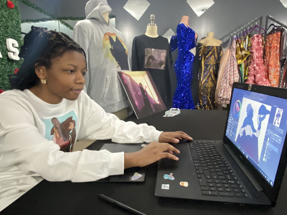 South Mississippi teenager's love for art turns into digital creations