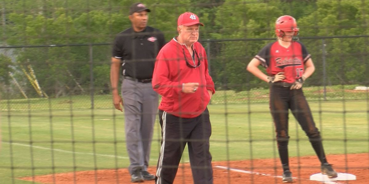 Harrison Central Red Rebelettes beat St. Martin 10-1 in Class 6A Fast Pitch Softball Playoff game