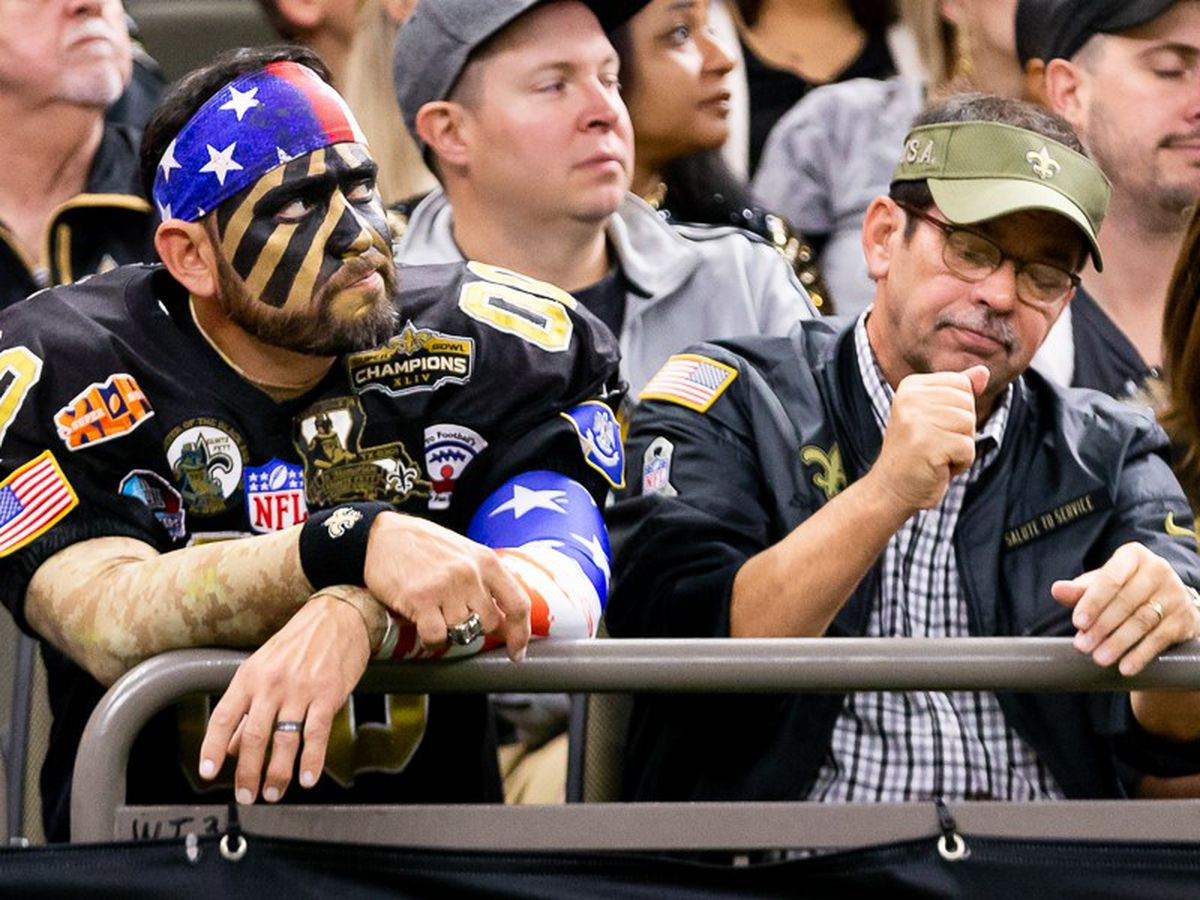 Saints fans react to disappointing loss against Falcons