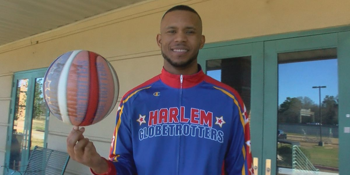 Jackson native turned Harlem Globetrotter teaches basketball skills to local deaf students