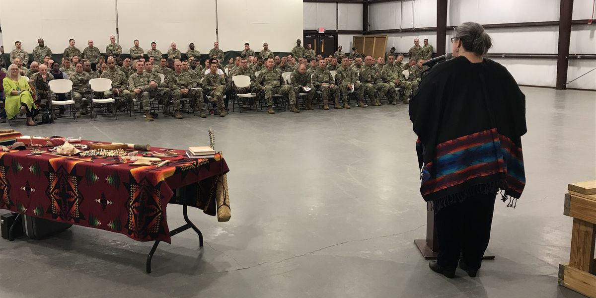 Camp Shelby hosts annual Native American heritage observance
