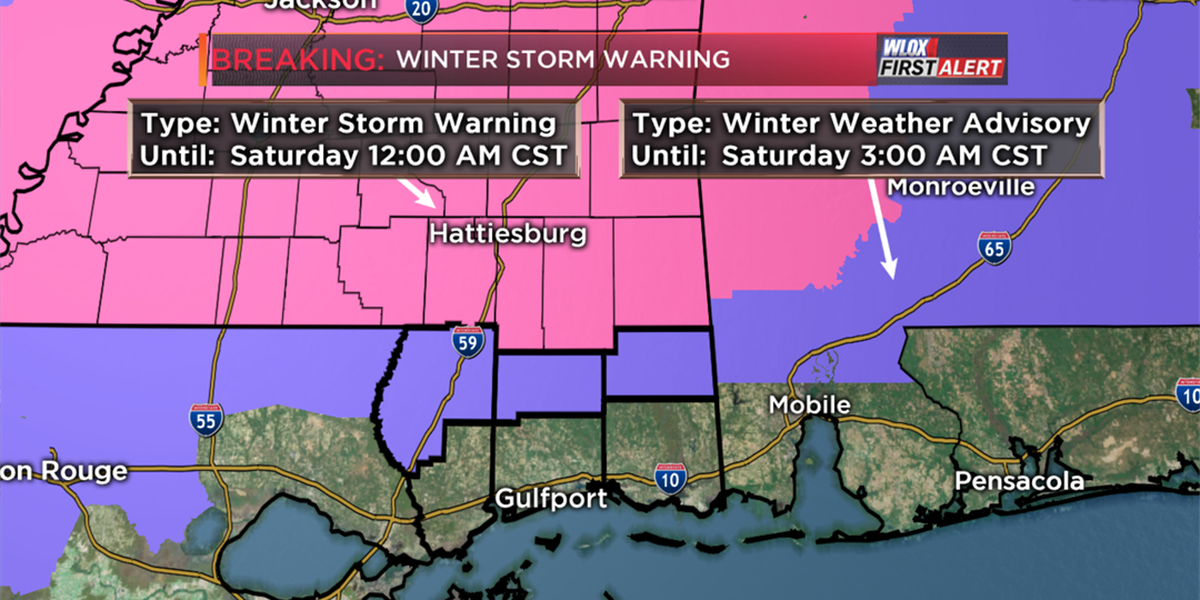 Wintry weather has arrived. Here's what you need to know.