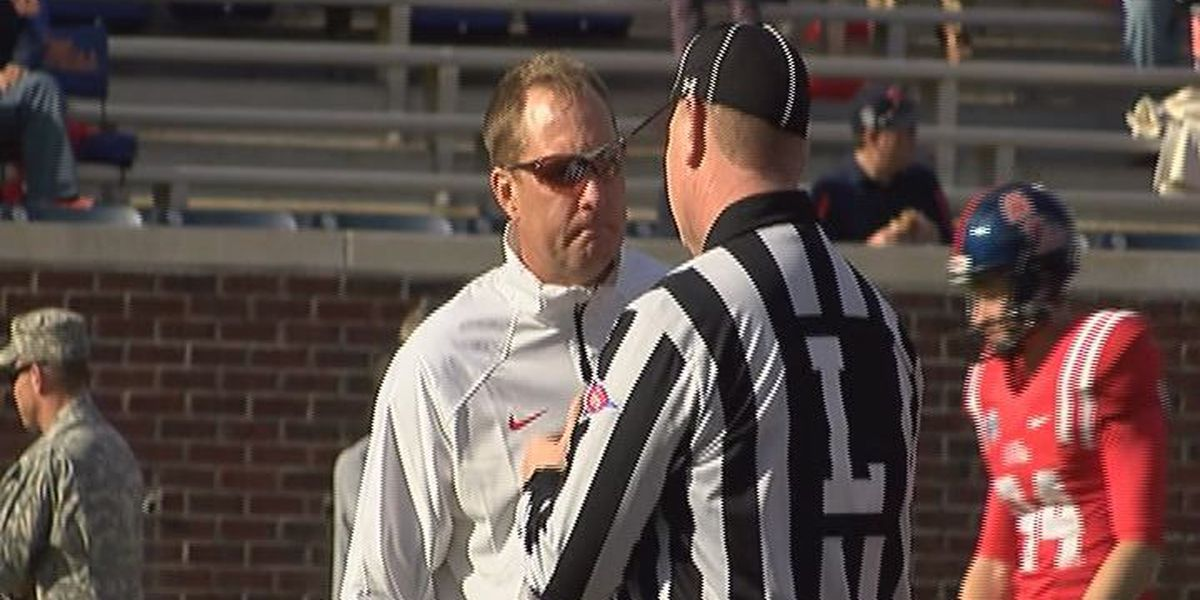 Ole Miss football Hugh Freeze will speak in Gulfport on Monday