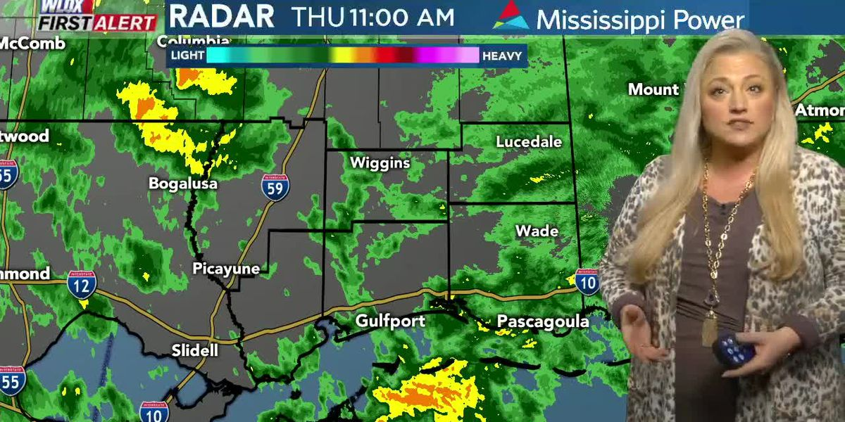 Carrie's Midday First Alert Weather