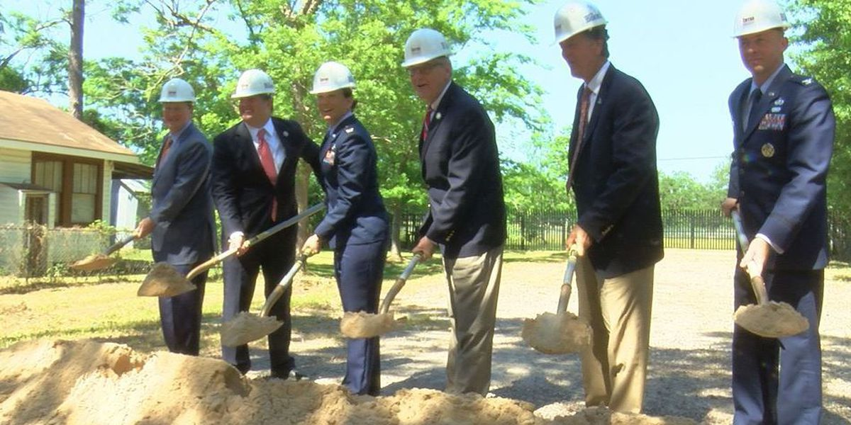 Collaboration brings new Keesler gate project to life