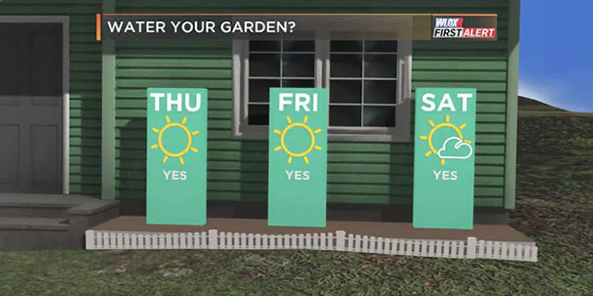 FORECAST VIDEO: 3-21-19 It's dry. So, water your gardens and mow your lawns.
