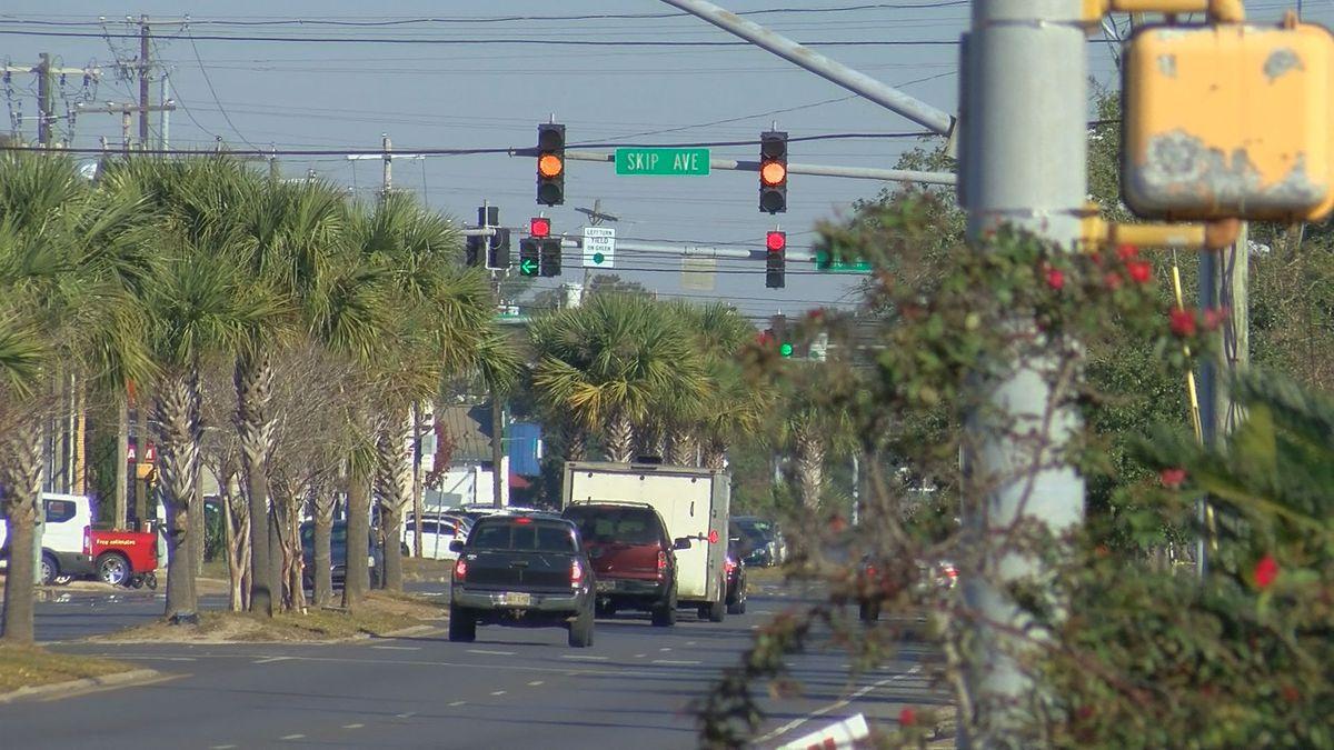 Traffic lights on Market Street getting $1.1M in upgrades - WLOX