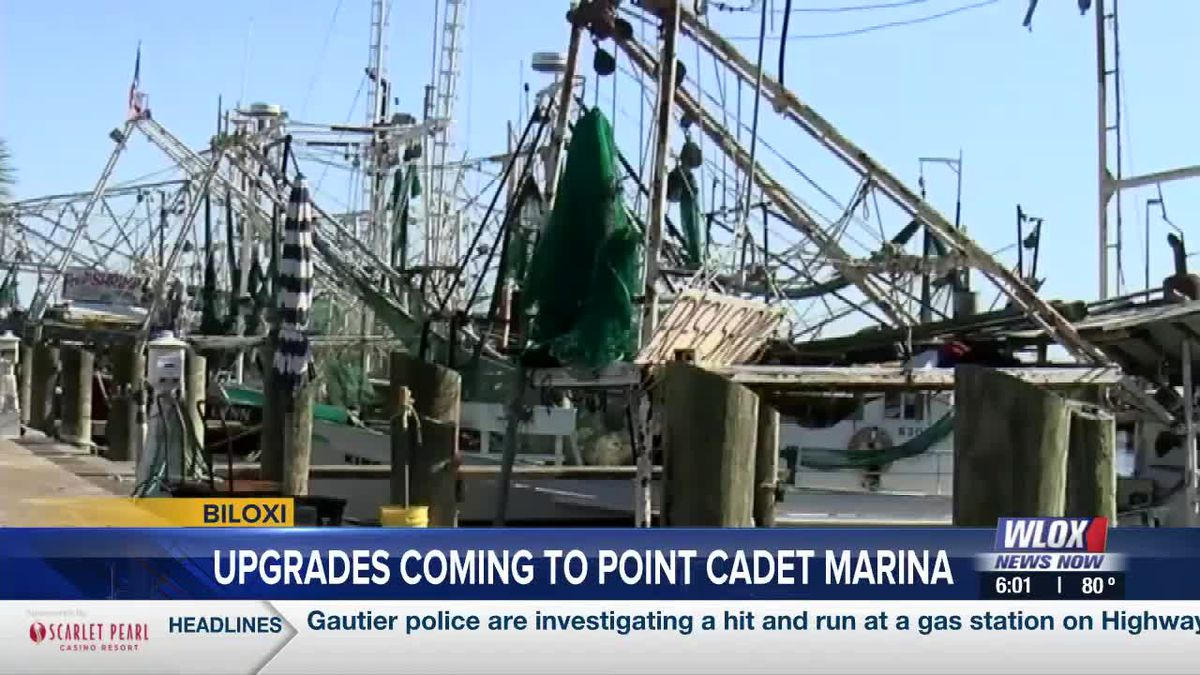 $3.29 million awarded to Biloxi for upgrades on Point Cadet Marina