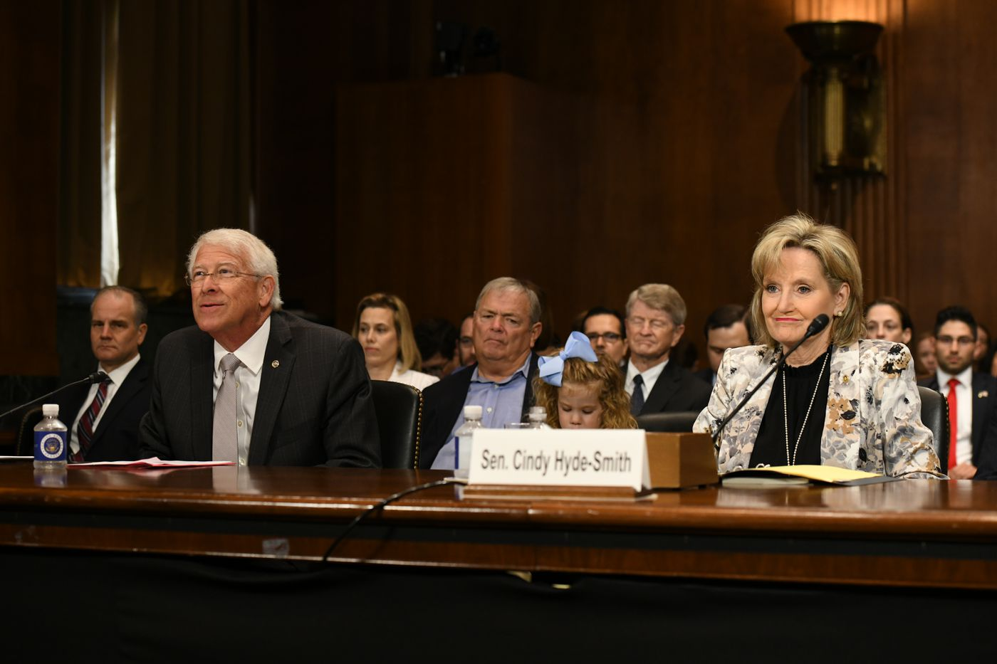 Mississippi's U.S. senators, Roger Wicker and Cindy Hyde-Smith, delivered high praise of U.S. District Court Judge Sul Ozerden to their colleagues in Washington Wednesday.
