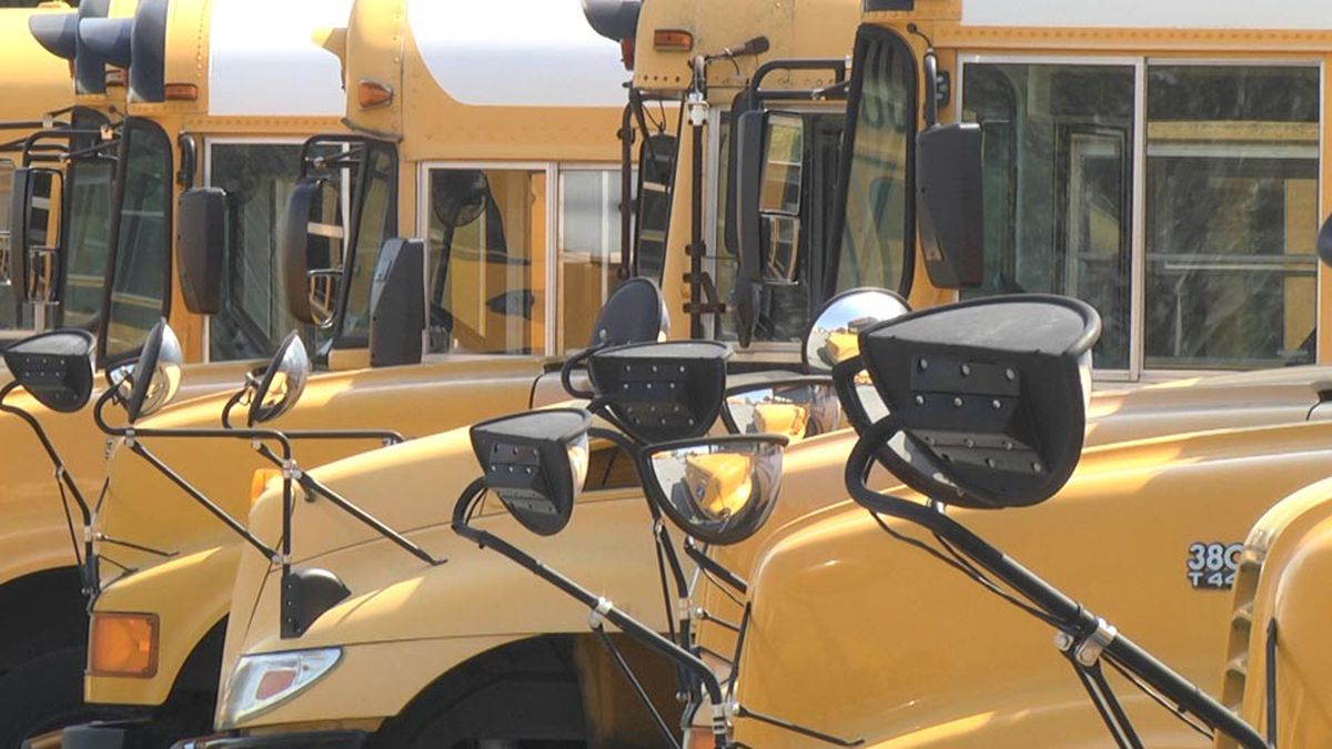 20+ batteries stolen from school buses in Jackson County