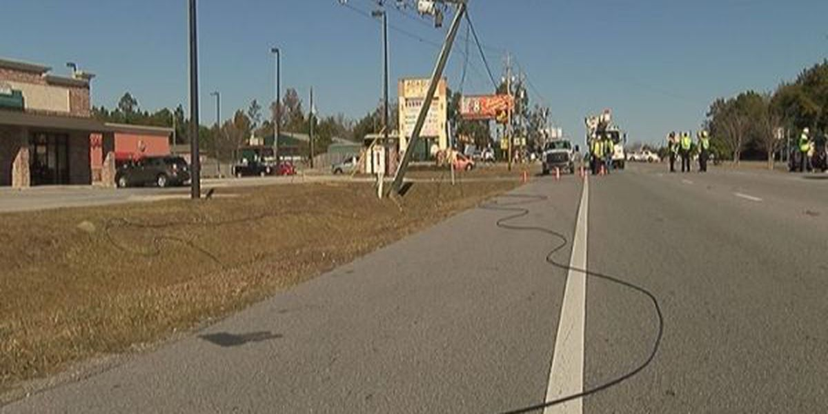 Gulfport power outage causes traffic mess and a halt to some local businesses