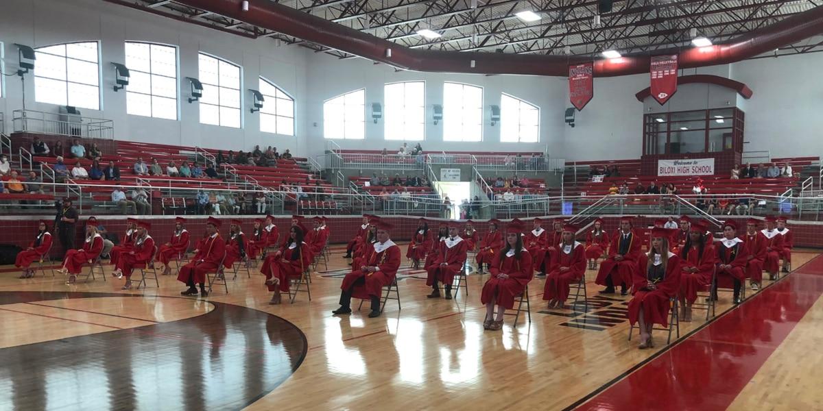 Biloxi High School Class of 2020 graduates in non-traditional ceremony