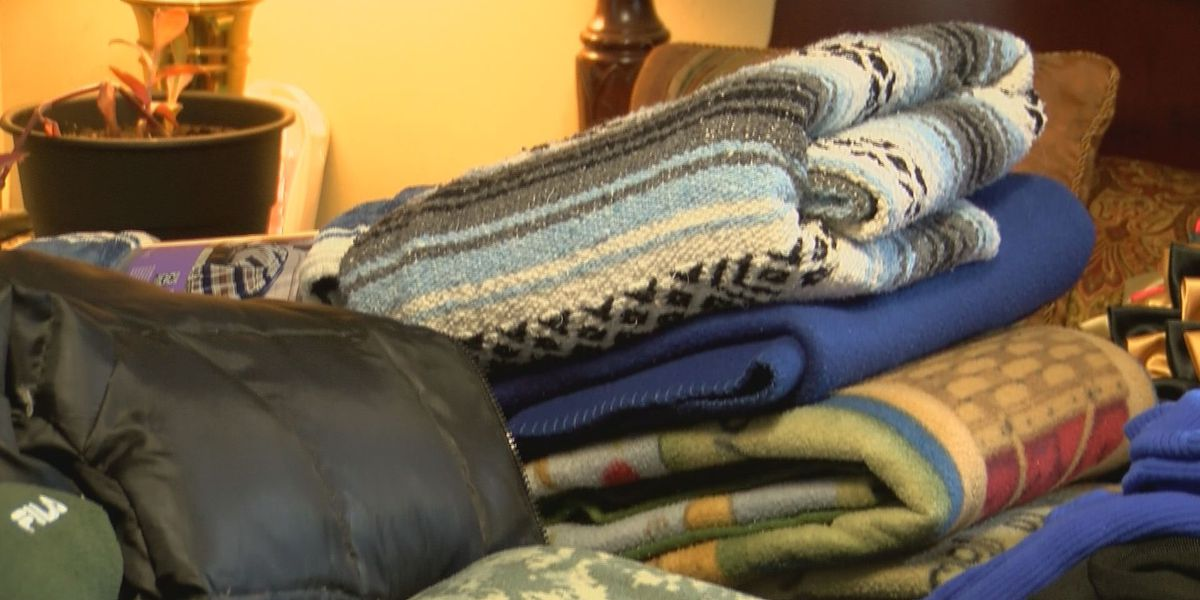 Pass Christian woman collecting warm clothes for winter clothing drive