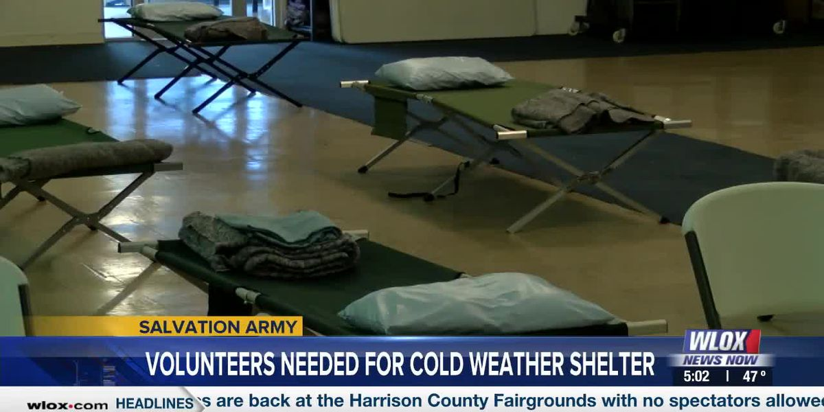 Salvation Army in need of volunteers for cold weather shelter