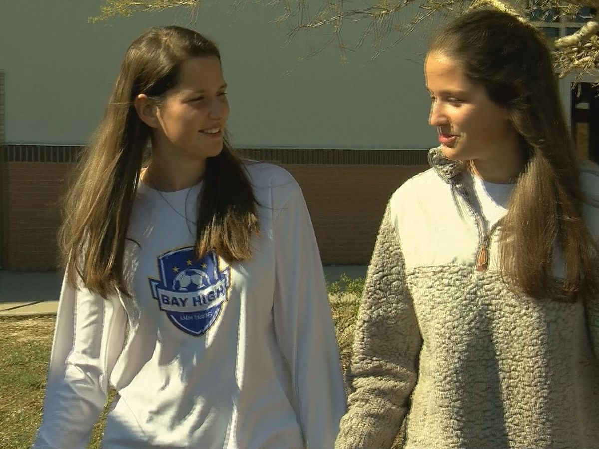Scholar Athletes: Twin sisters prove to be a dynamic duo on and off the field