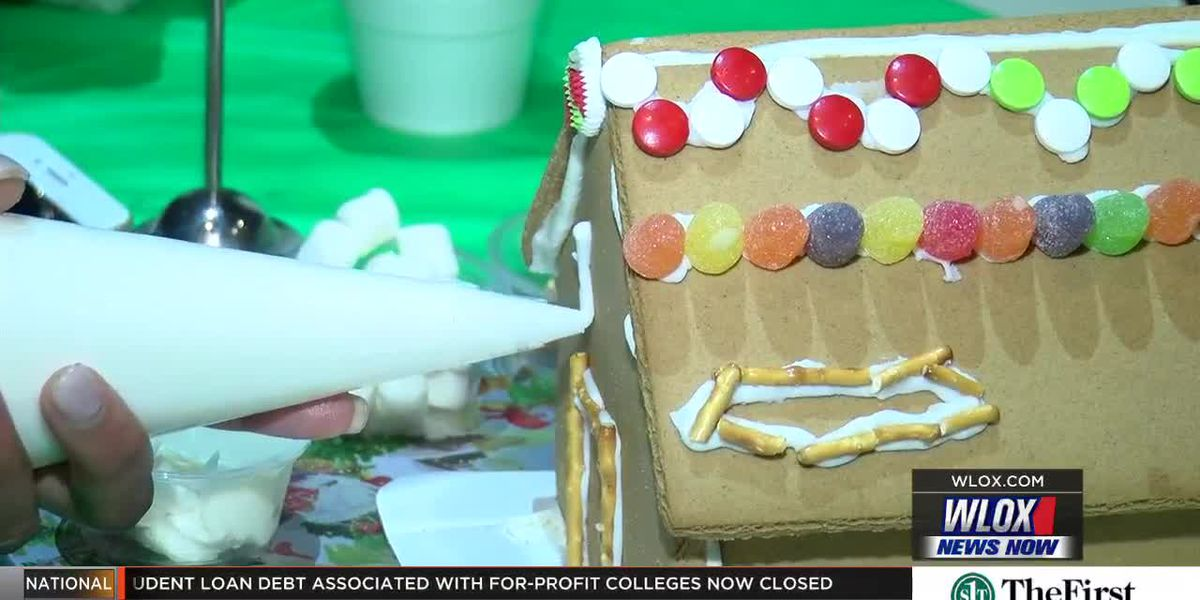 Gingerbread house building workshop helps build family traditions