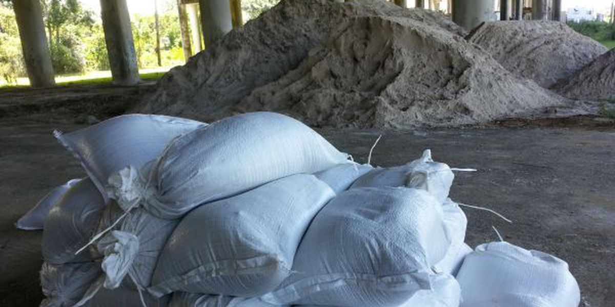 UPDATED: Sandbags available ahead of weekend storm alert