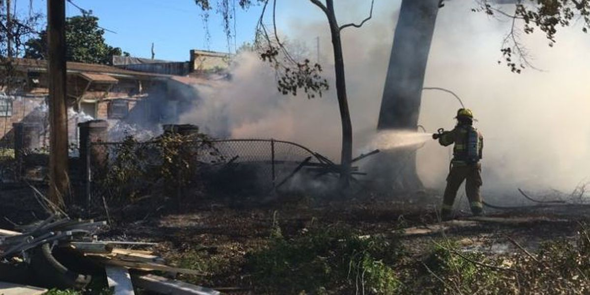 Vacant Gulfport home destroyed by fire