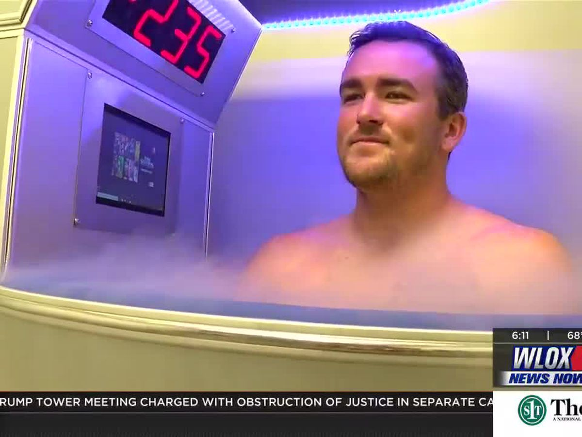See how Cryotherapy is helping athletes (and others) ease sore muscles