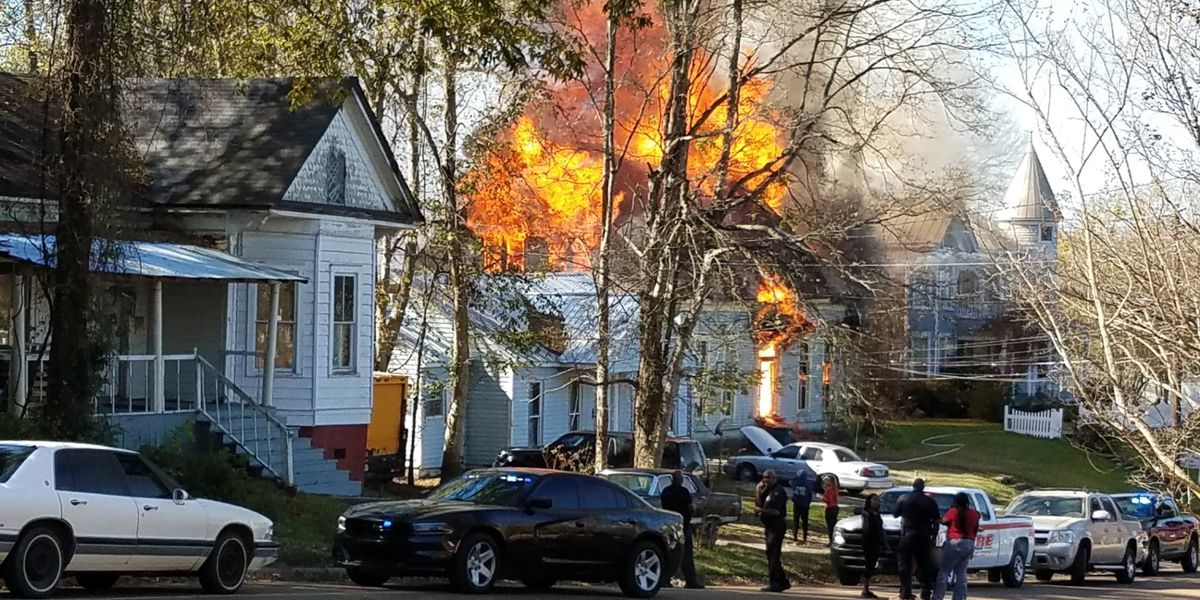 'A tremendous loss': Historic Yazoo City home burns along with three others