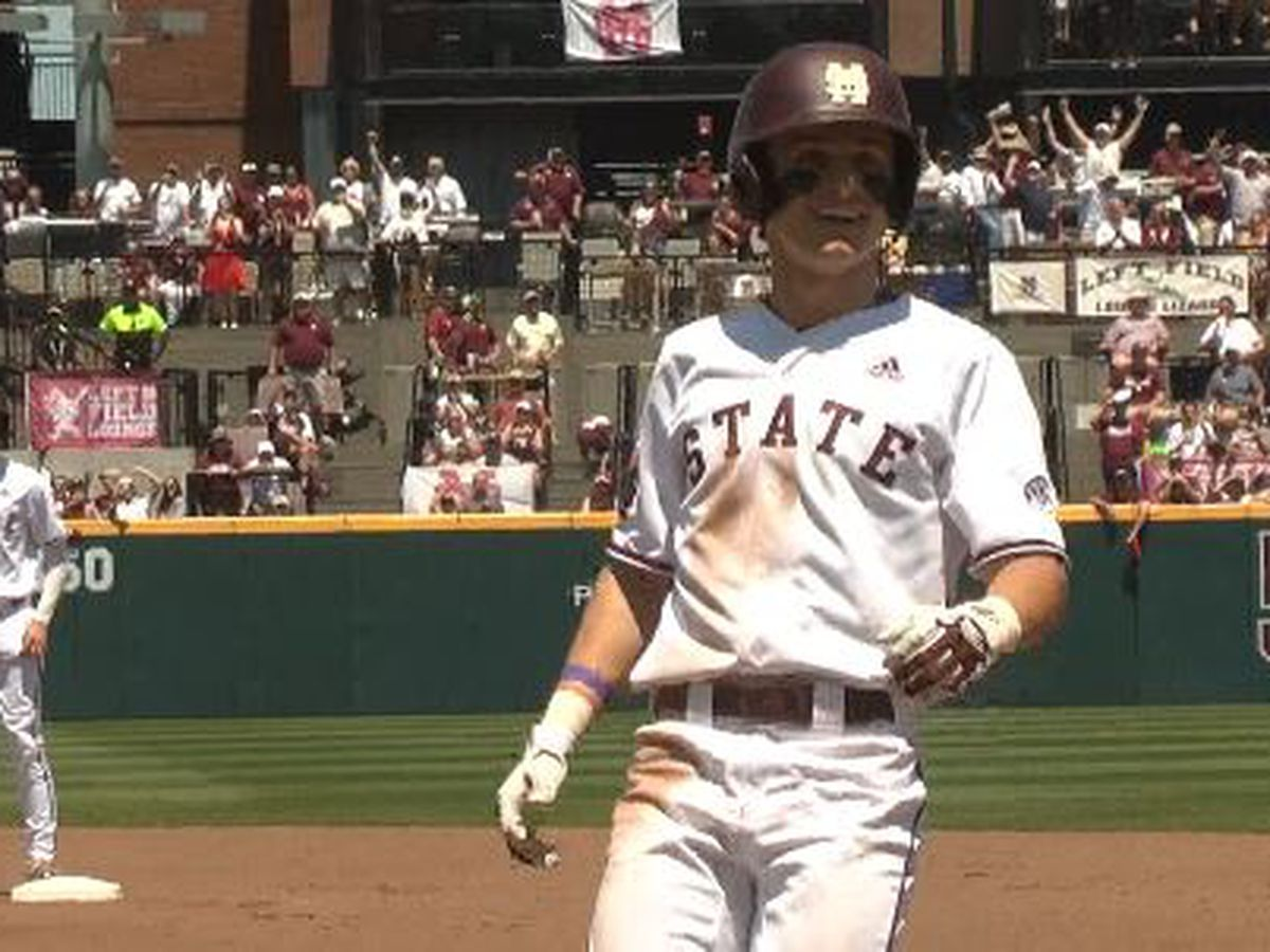 Mississippi State's Jake Mangum earns SEC Player of the Week