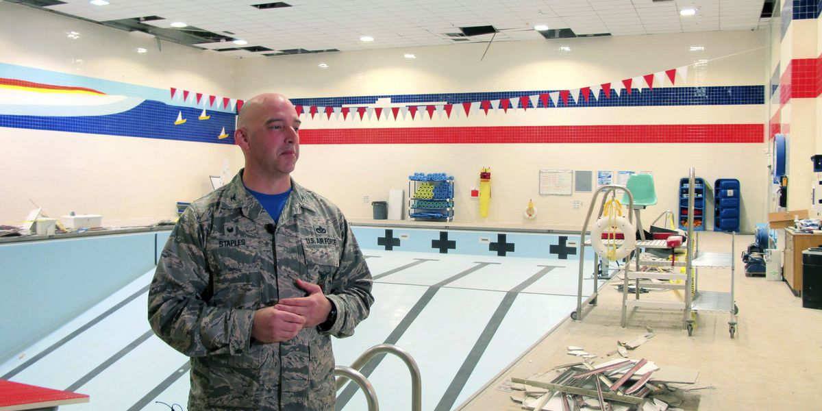 Military officials unveil damage from powerful Alaska quake