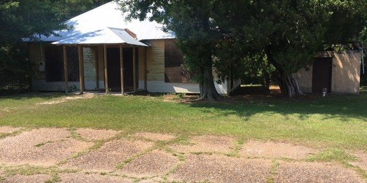 Historic African American schoolhouse in Gautier getting a face-lift