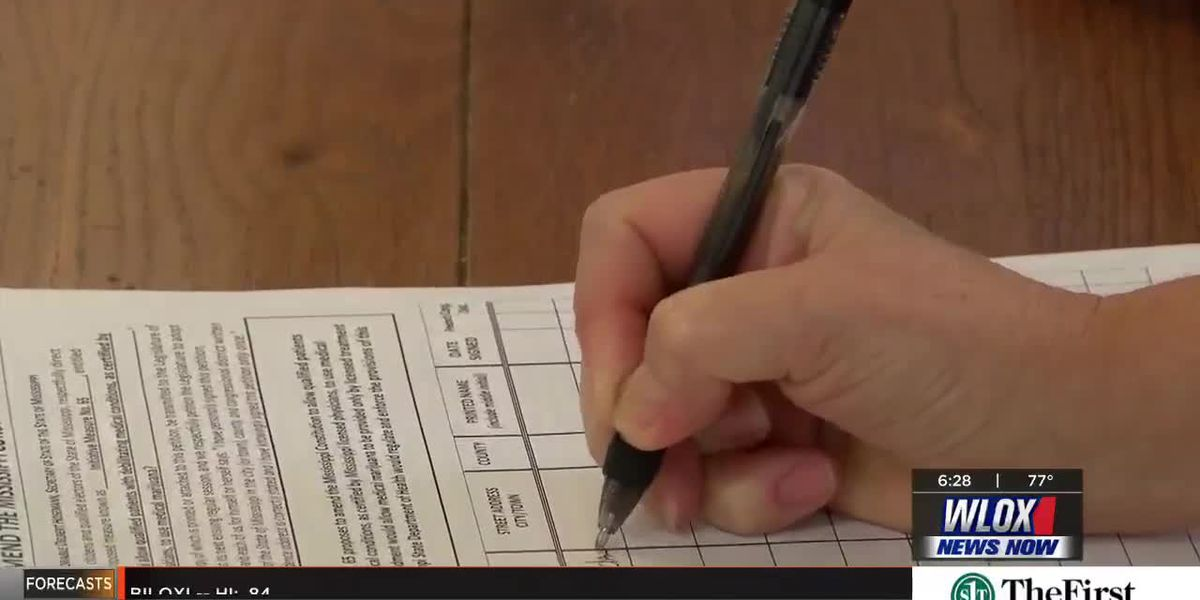 Coast mayor collects signatures to legalize medical marijuana in MS