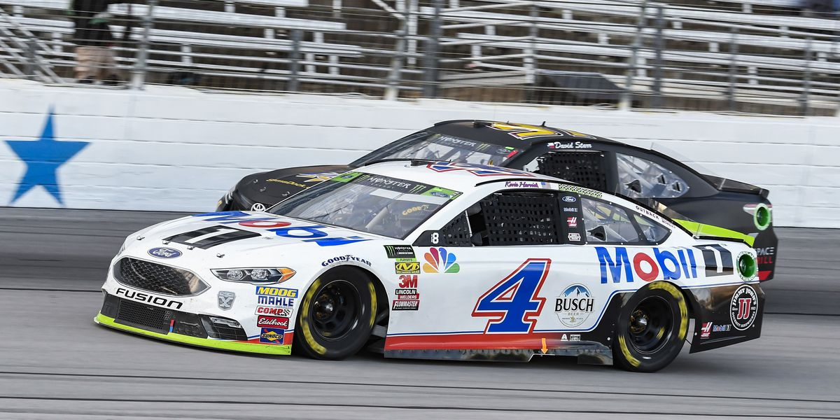 Harvick on cheating: 'I just show up and drive the cars'